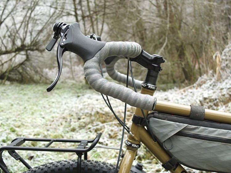 Nitto Rm-013-Heat Treated Dirt-Drop Bicycle Handlebar //// 52cm //// 26.0 //// Silver