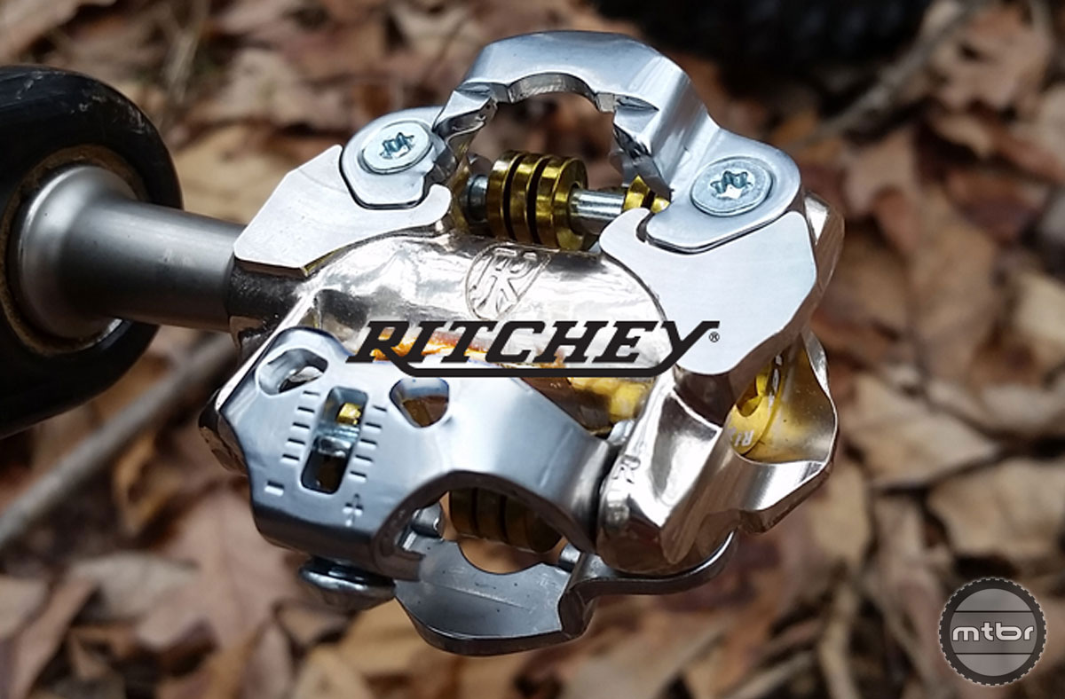 Ritchey says the new pedal was redesigned from the ground up, and features a revamped engagement system that has a fixed front claw for better entry and release along with reliable mud-shedding.