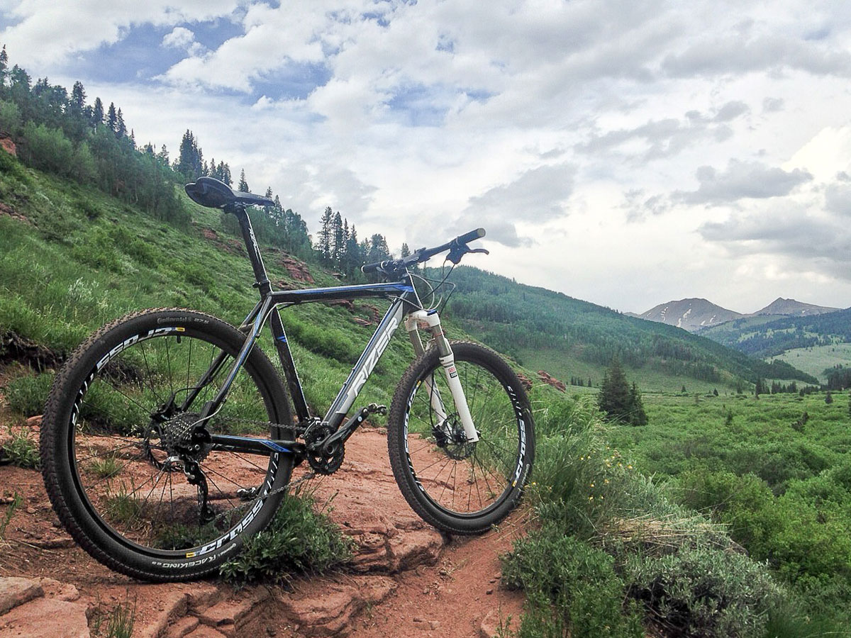 The Rizer Rival 2.0 is a solid entry level hardtail, if you can live with a few odd component choices.