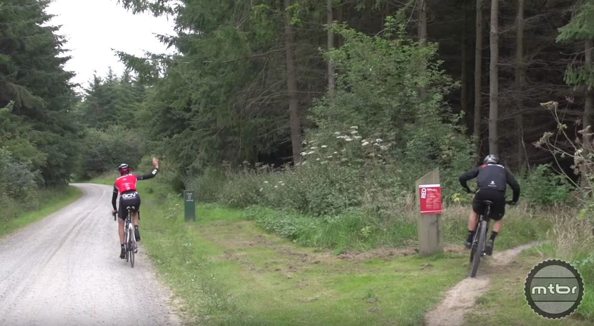 Is mountain biking or road cycling more physically intensive?