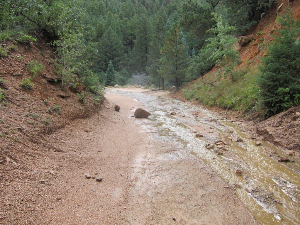 Goldcamp and Jacks hit hard by rains-road2.jpg