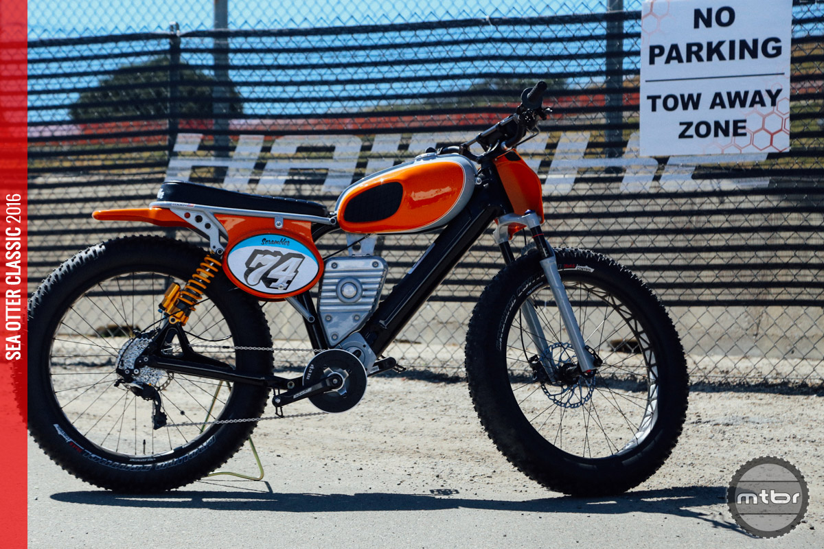 However you may feel about electric bikes on your local trail network, you cannot deny how cool this bike looks!