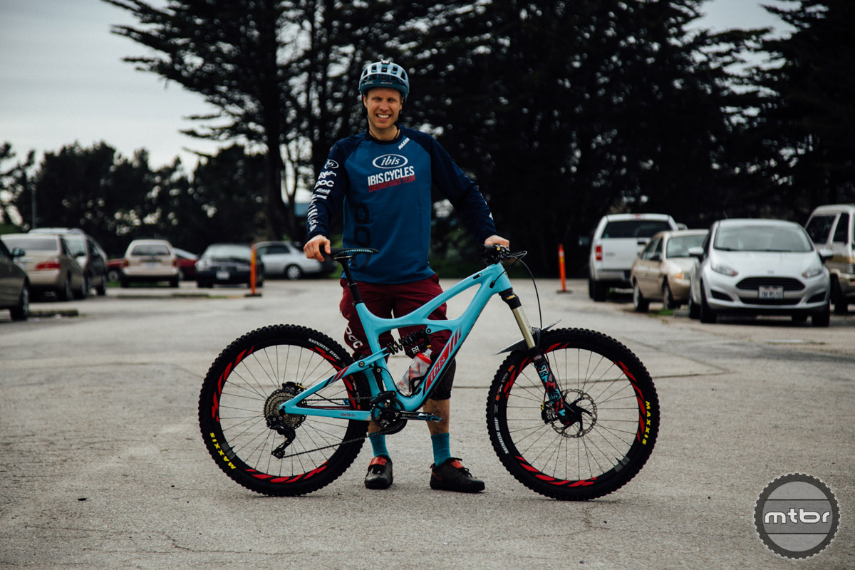 Formerly a WC racer, Robin Wallner is set to contest the EWS this season.