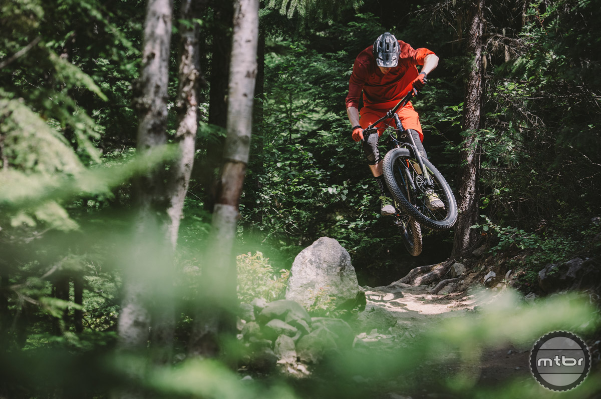 The Growler is a plus sized hardtail tuned for trail use. Photo by Margus Riga