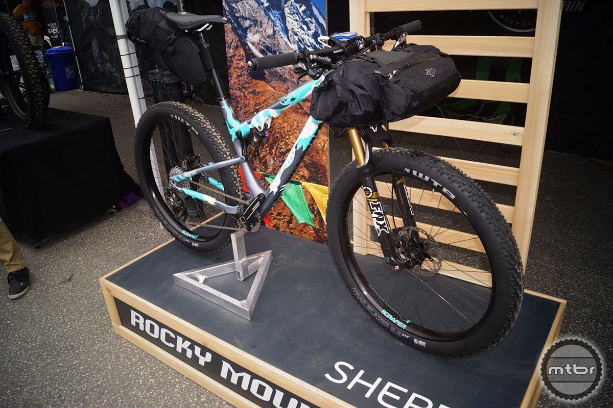 Rocky Mountain Sherpa Front 3/4
