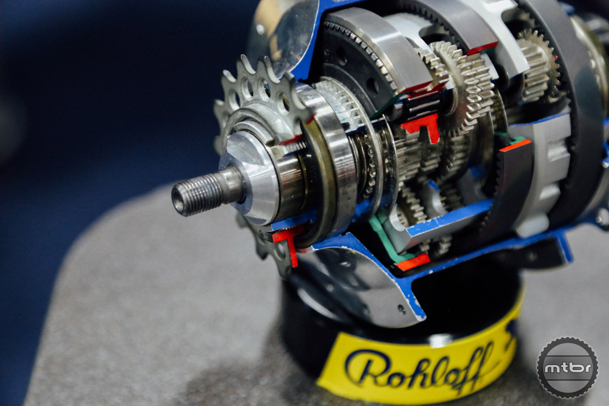 Rohloff's internally geared hubs are expensive, but the legendary reliability makes them ideal for adventuring into remote places.