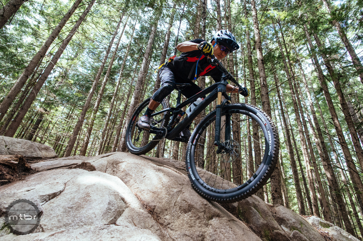 We handled some very tricky terrain in Squamish and Fuel EX never missed a beat.
