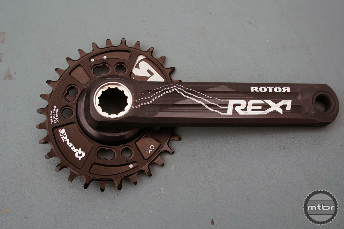 Rotor Rex Crank and Ring