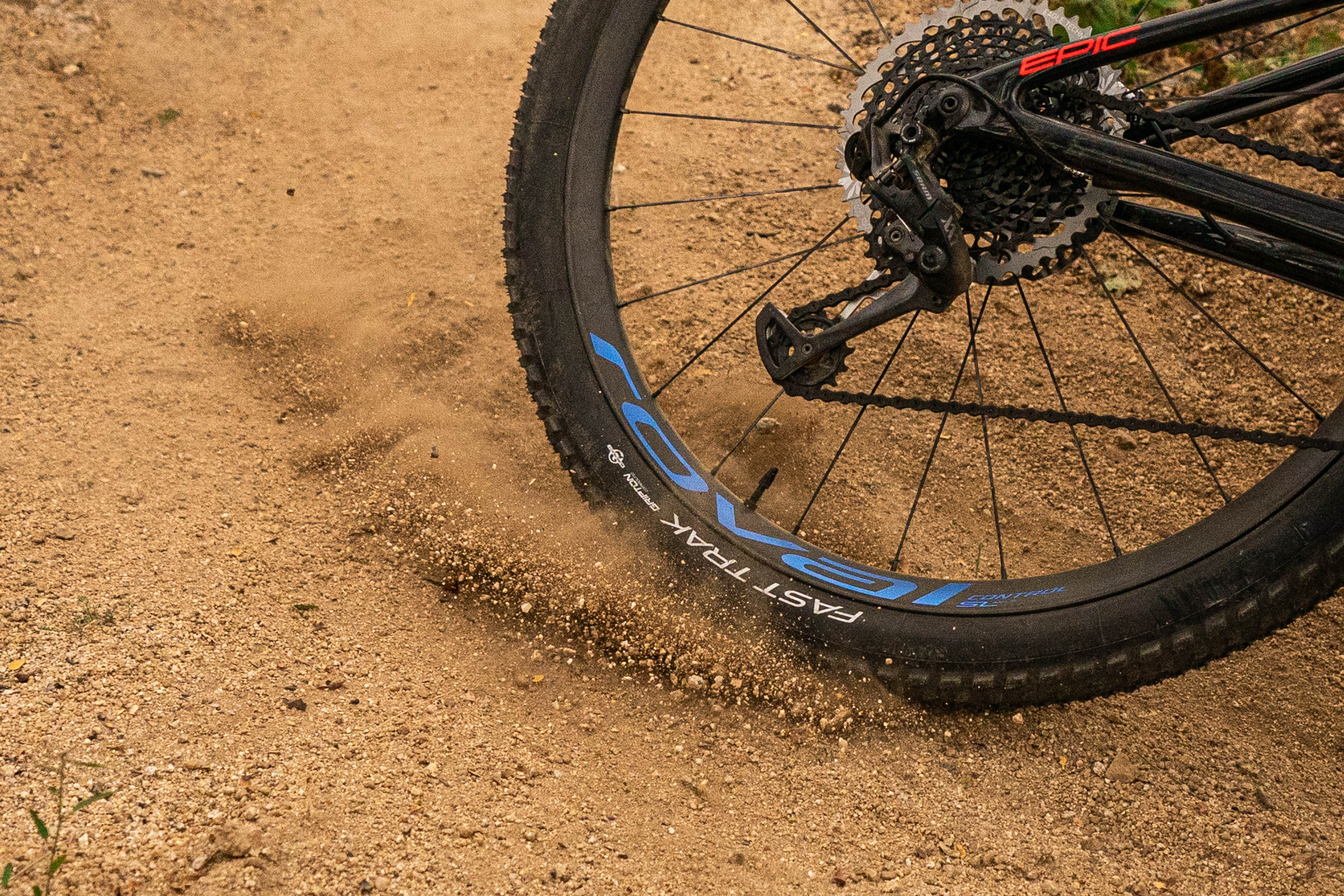 The Roval Control SL's are up to speed for the demands of modern XC riding.