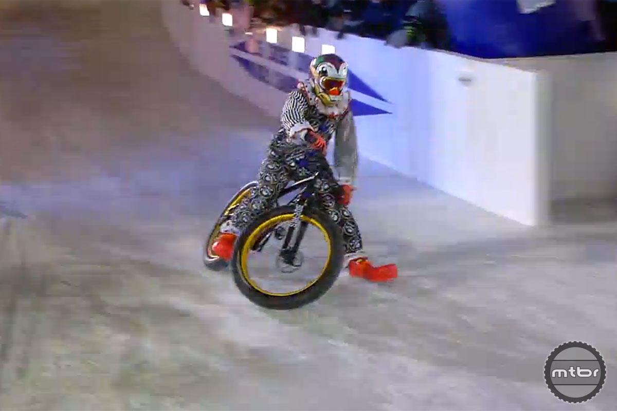 Rowdy Red Bull Crashed Ice Finish