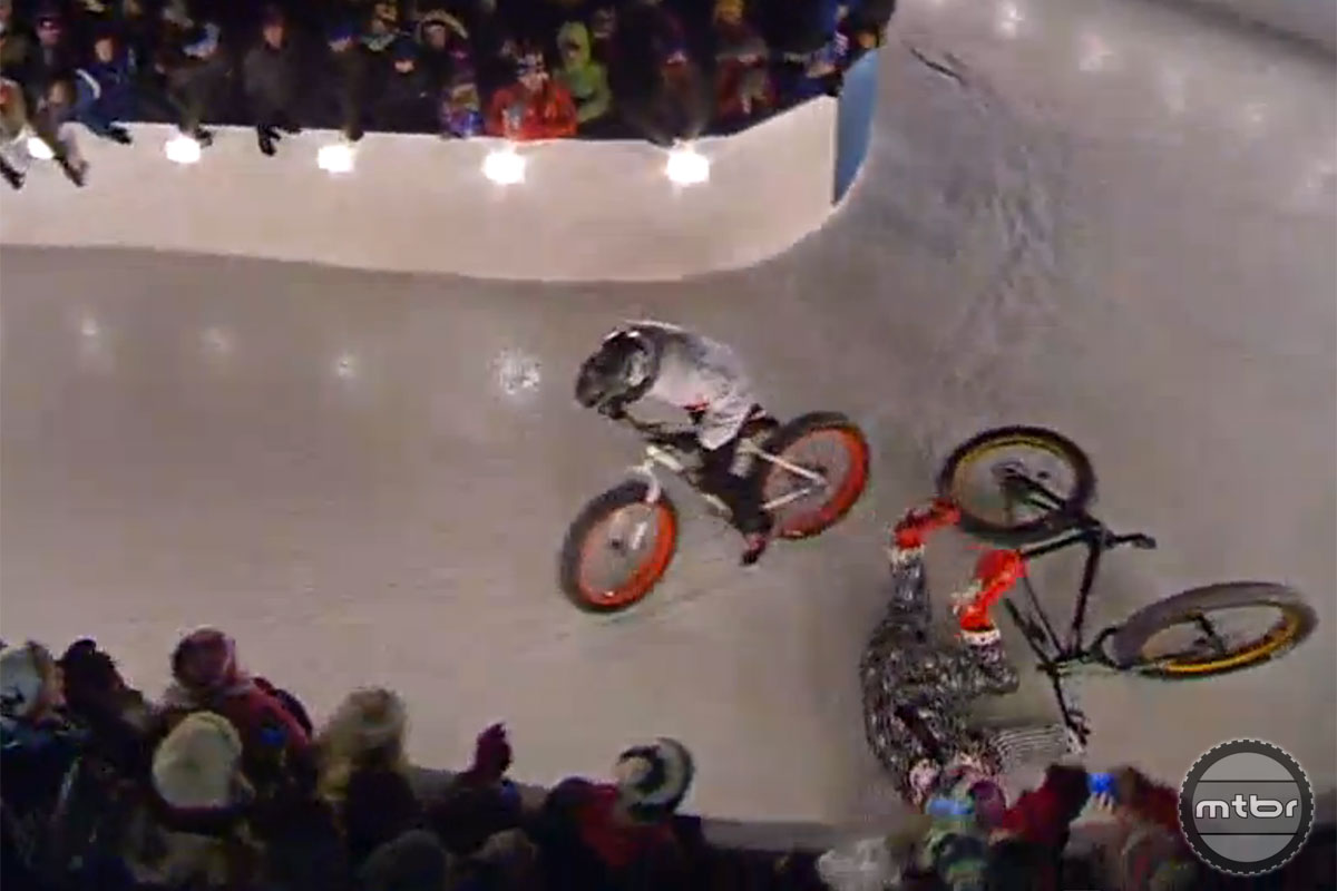 Rowdy Red Bull Crashed Ice Takedown