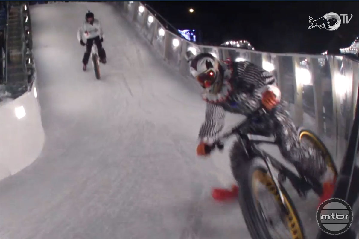 Rowdy Red Bull Crashed Ice Wallbanger