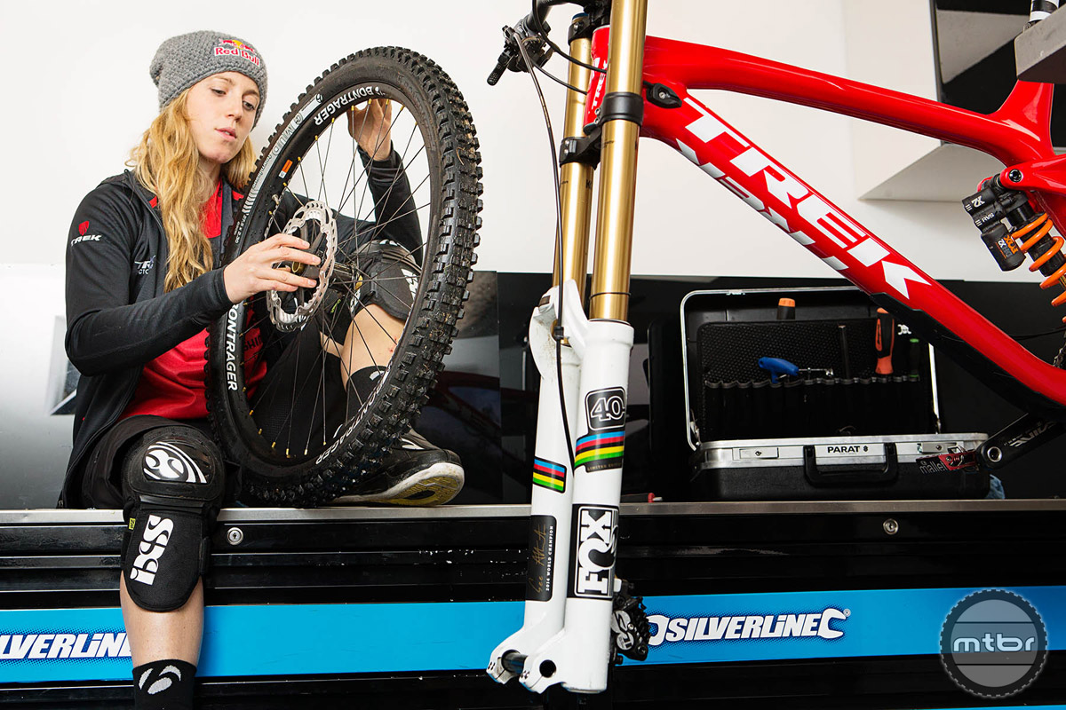 Rachel Atherton has won twenty six world cup downhill races.