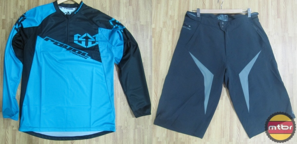 Royal Racing Stage Jersey and Esquire Shorts
