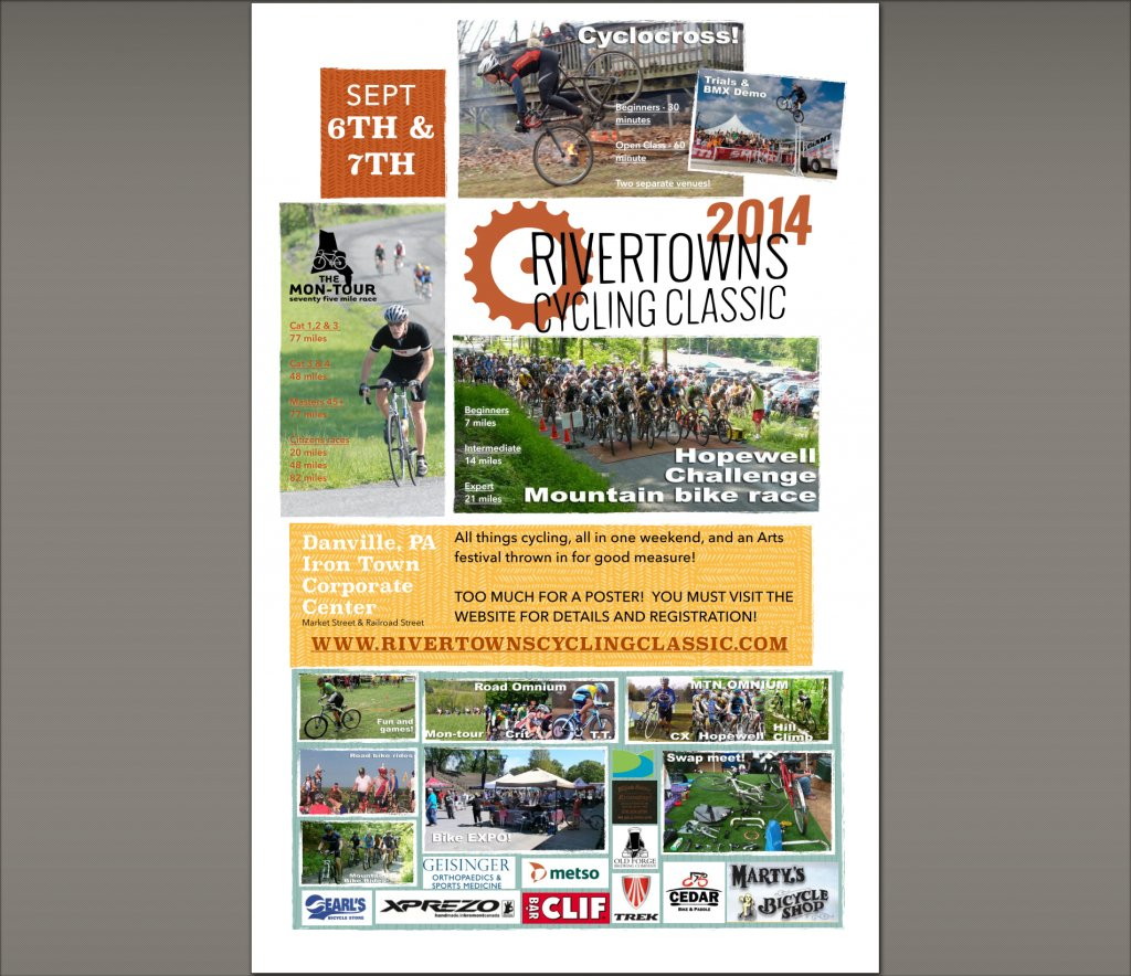 River Towns Cycling Classic - Sept 6&7 2014 Danville PA-rtcc-poster.jpg
