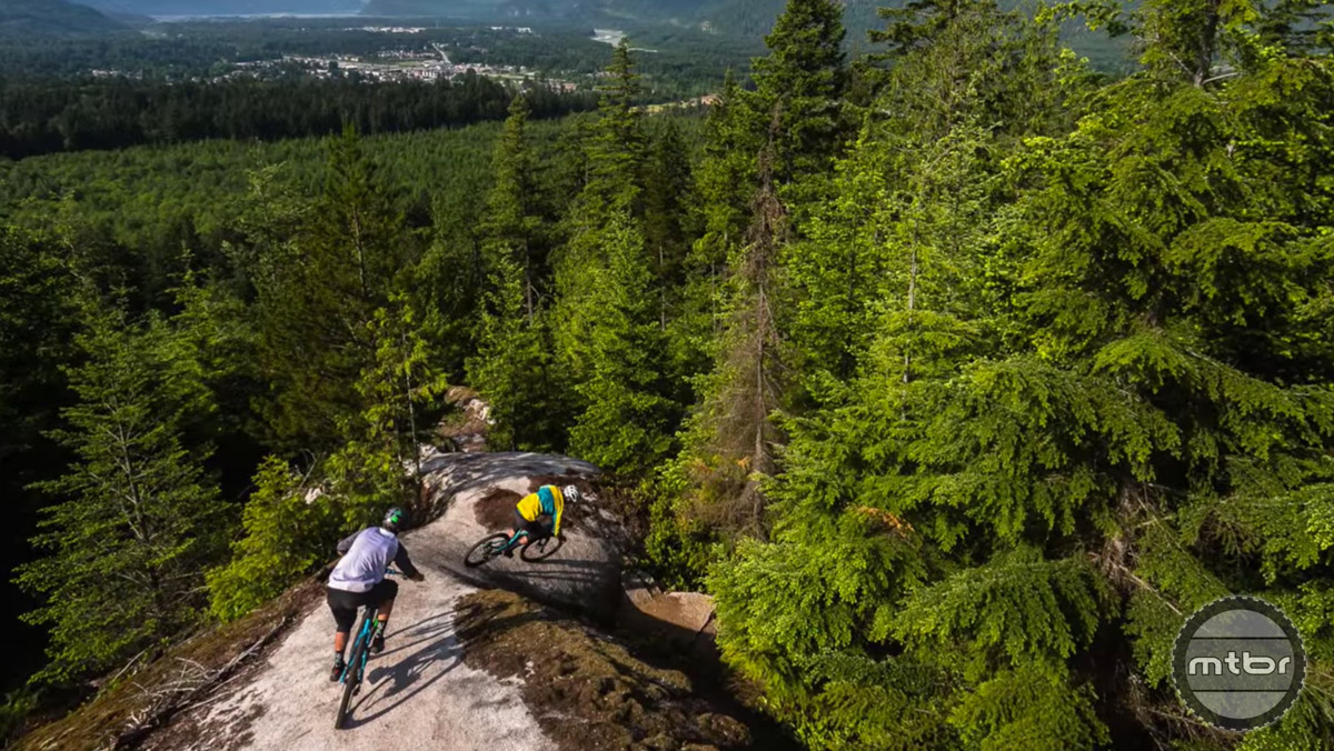 Local photographer Reuben Krabbe travels light and rides well to capture the essence of Squamish riding without interrupting the flow of the ride.