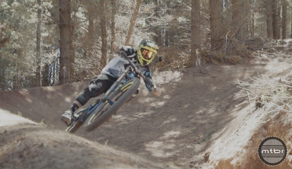 Pivot's Rupert Chapman rips Christchurch Adventure Park