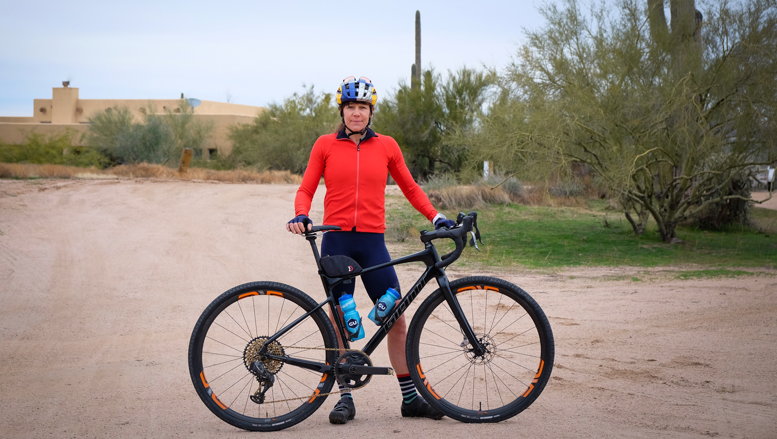 Rebecca Rusch joins Giant and will tackle this year's gravel races on the Revolt Advanced.
