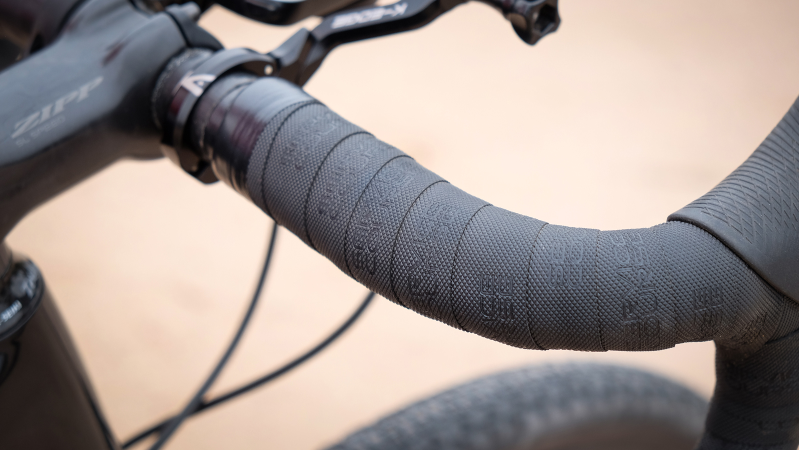 Thick handlebar tape with gel underneath takes the edge off rough gravel roads.