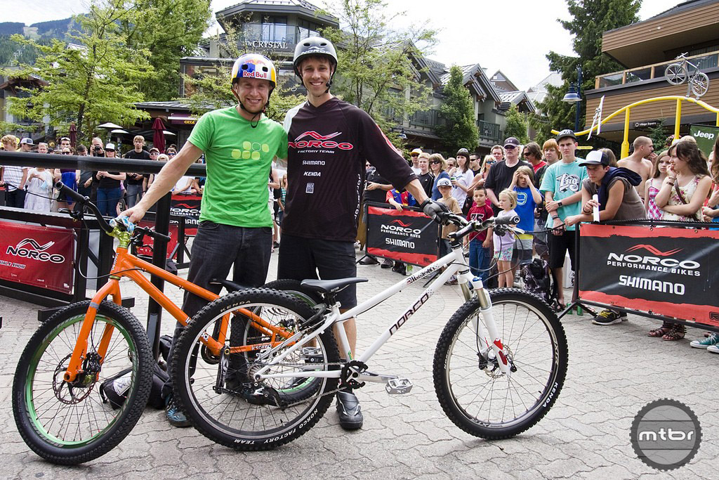 Ryan Leech and Danny Macaskill 2011