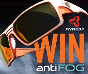 RYDERS antiFOG eyewear giveaway
