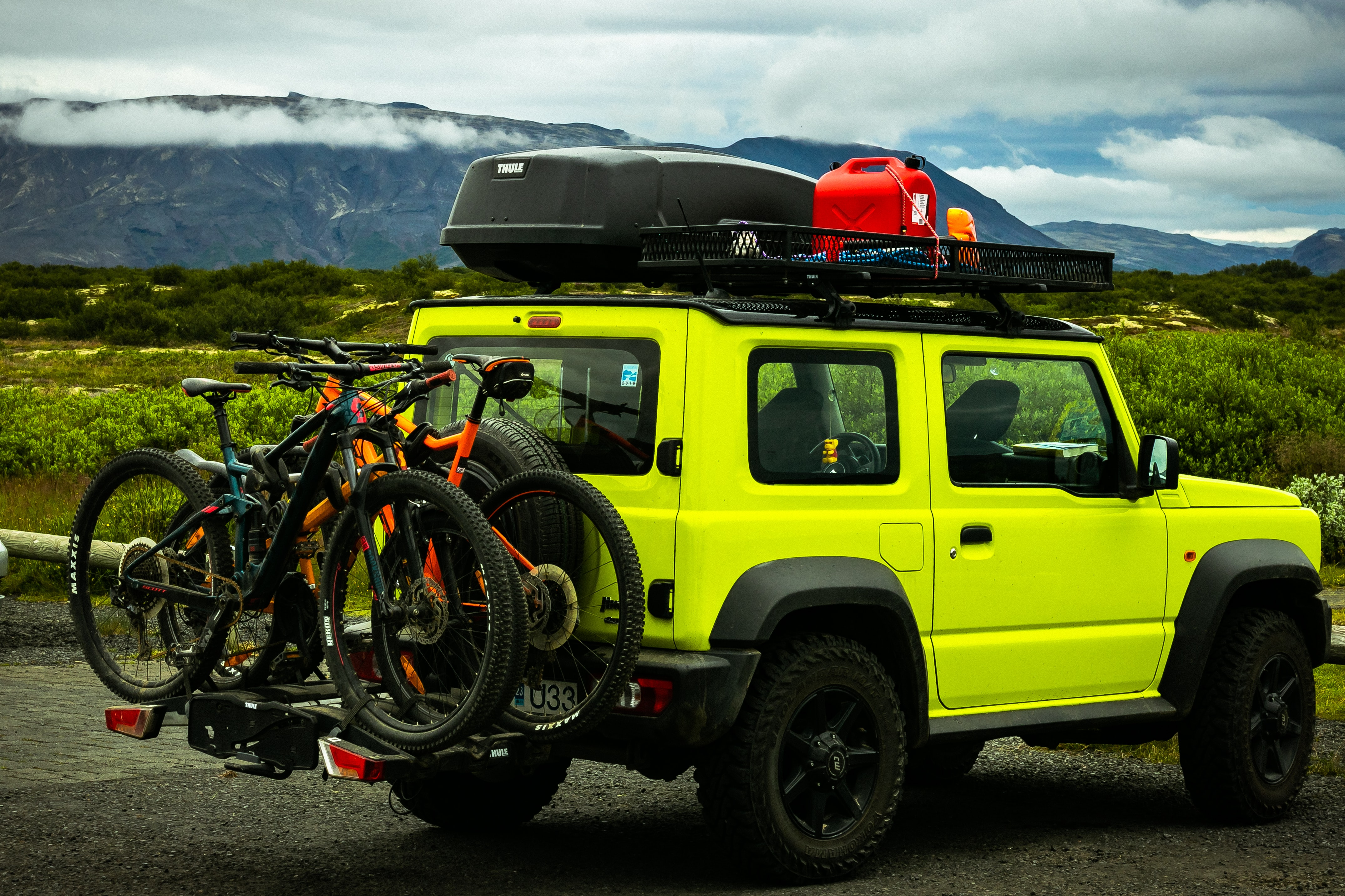 The gear experts at evo have this advice for anyone planning a mountain bike road trip this summer. Photo by Saikrishna Saketh