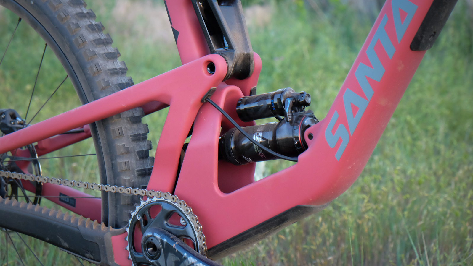 The new lower-link suspension design is more progressive and easier to set-up.