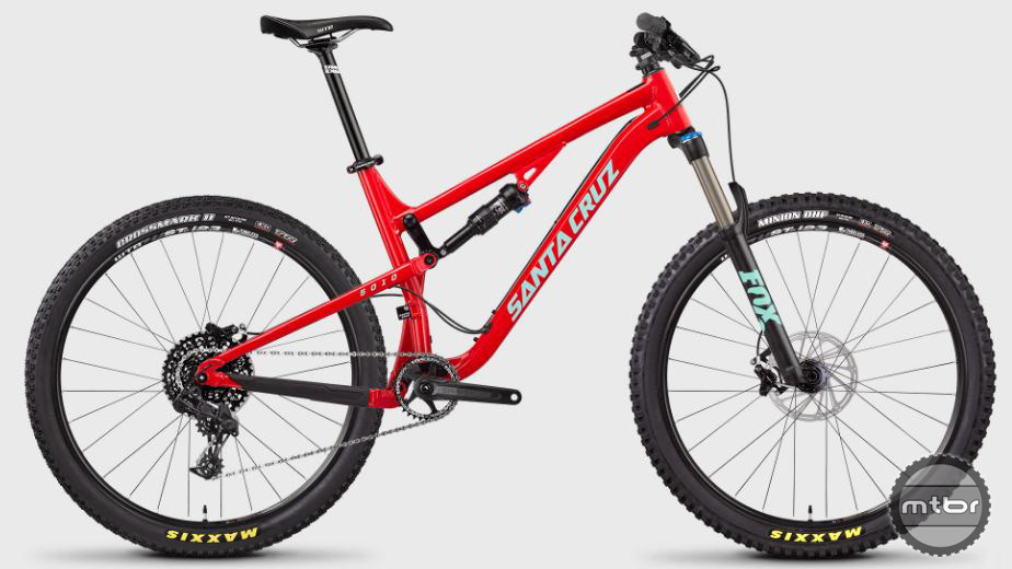 The R1X version of the 5010 retails for the same price as the model we weighed, but ships with a 1x SRAM drivetrain - which should help shave some weight.