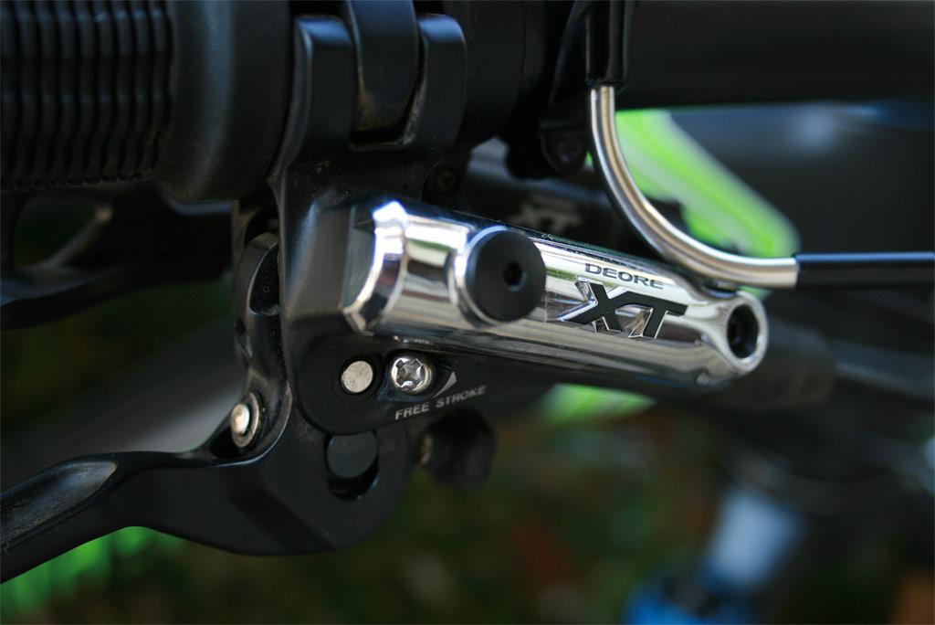 Santa Cruz Blur TRc - XT Brakes