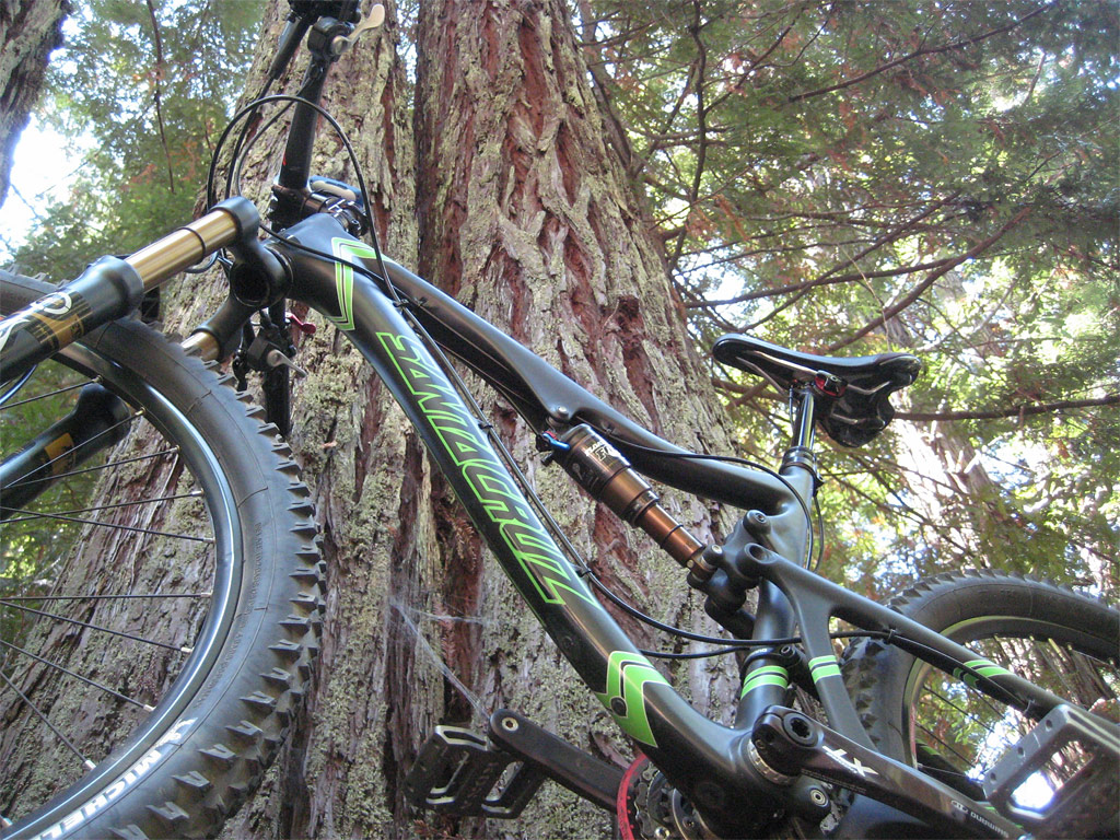 Santa Cruz Blur TRc - At the Demo Forest