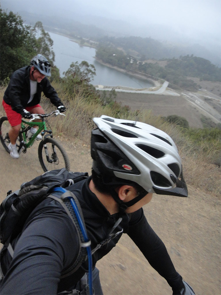 Santa Cruz Blur TRc - A ride up LG creek trail with a buddy visiting from Bakersfield...his first ever MTB ride!