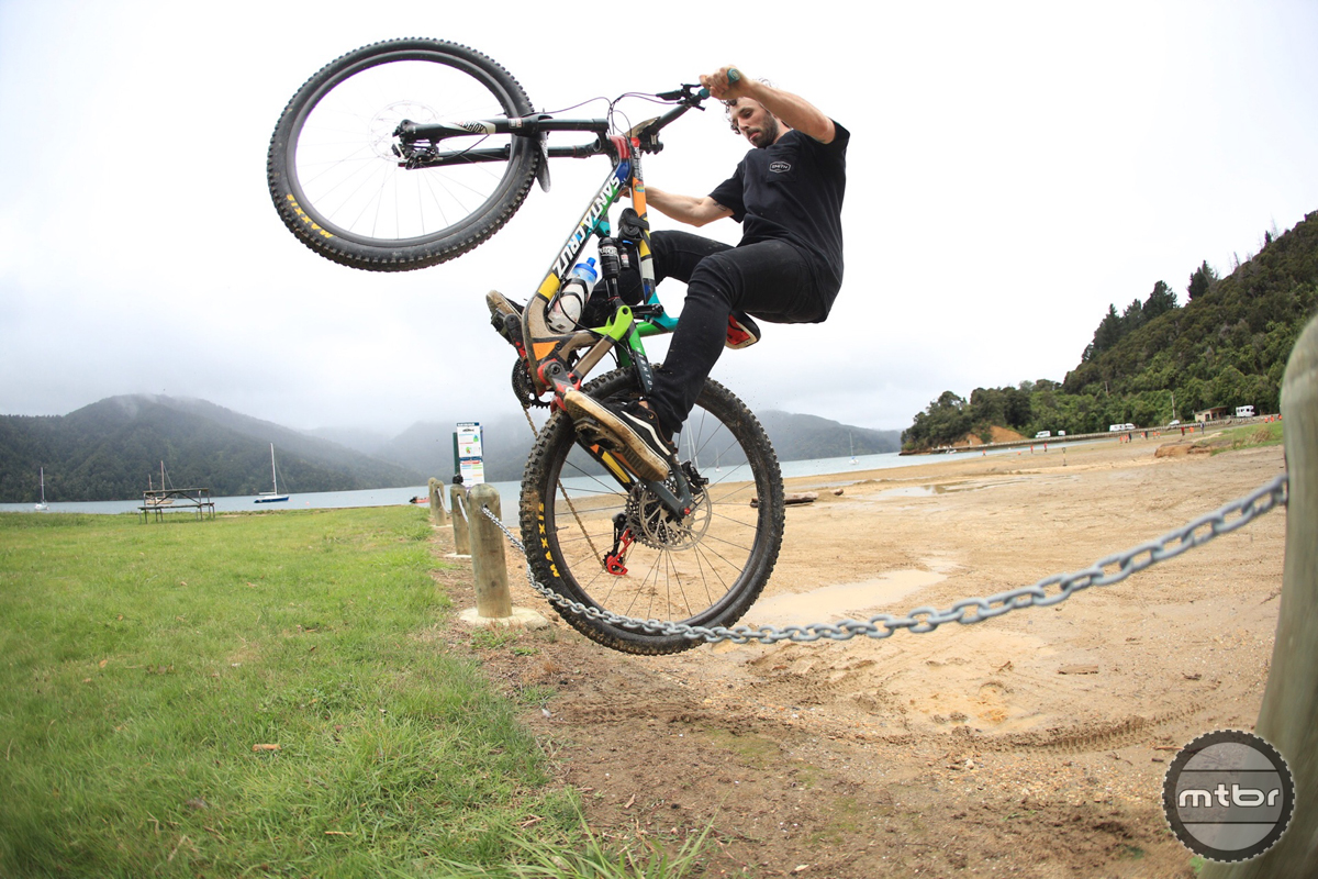 Santa Cruz Hightower EWS Josh Lewis