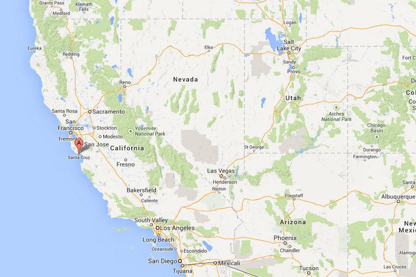 Santa Cruz Map