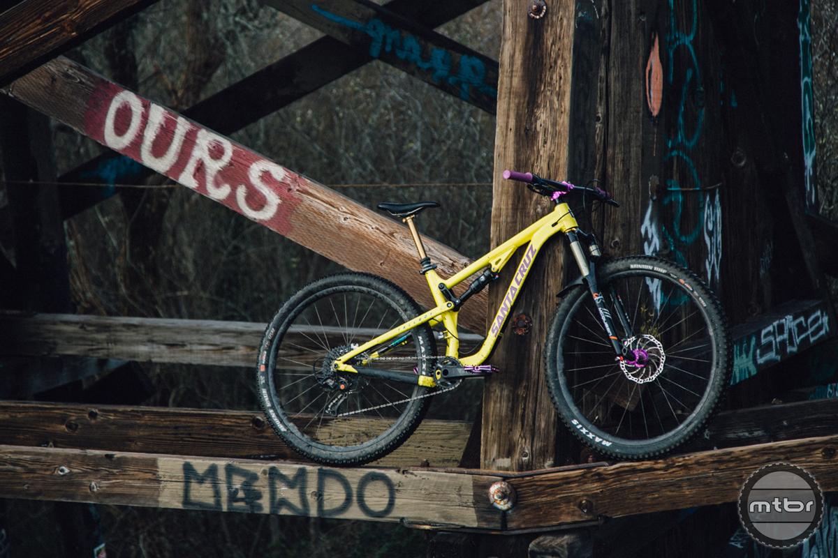 Santa Cruz Tallboy 3 TB3 aluminum 29er 110mm