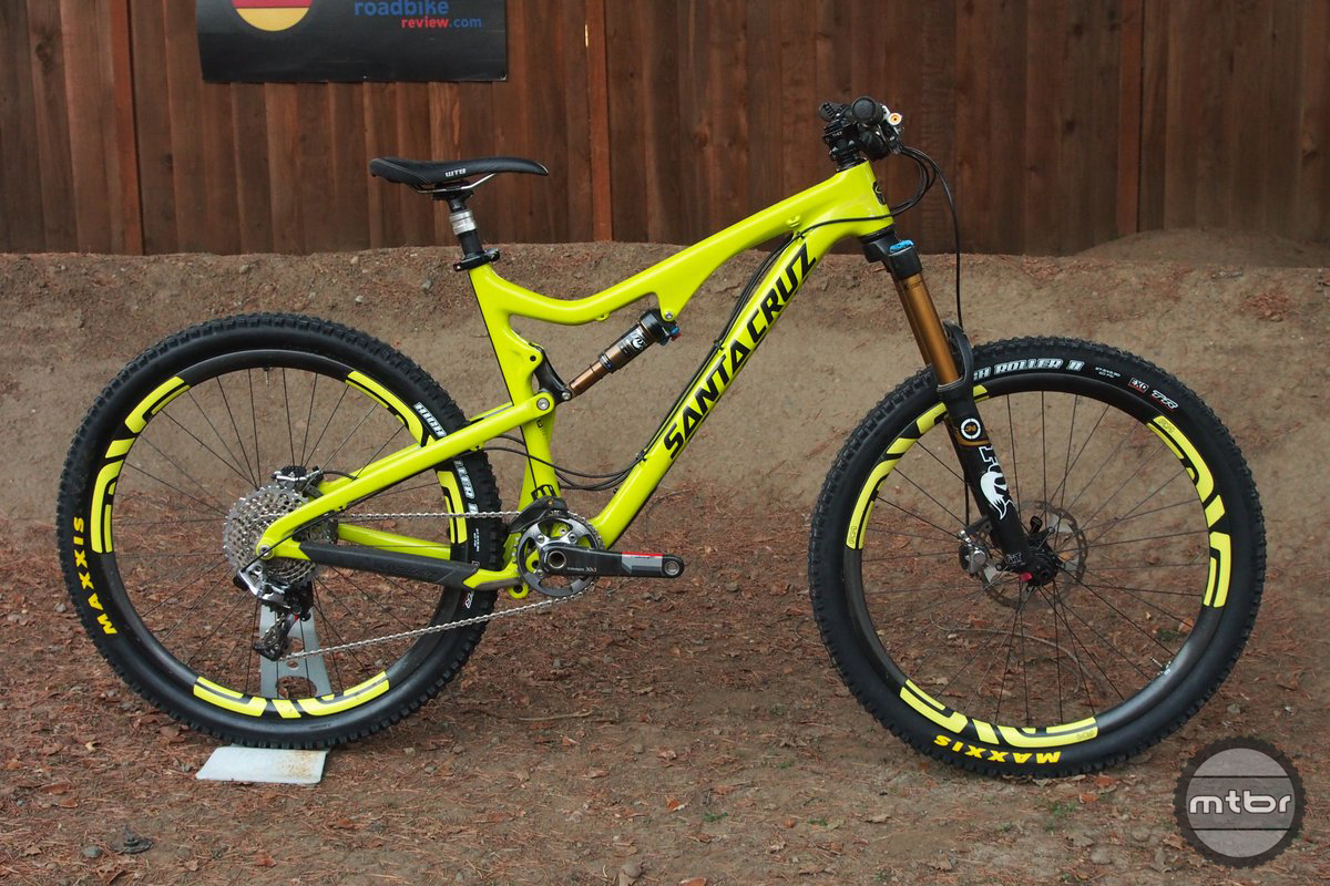 Santa Cruz Bronson Carbon X2