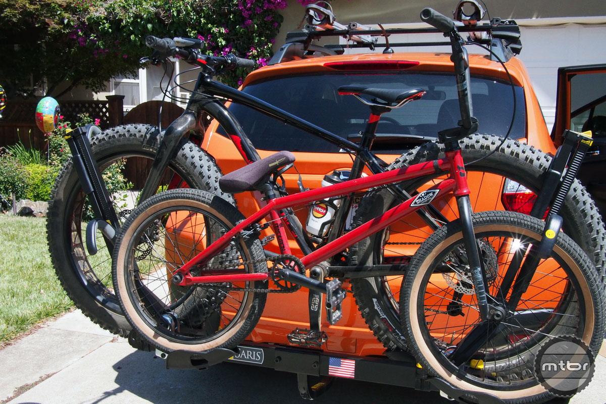 Saris SuperClamp 2 with Fat Bike and BMX