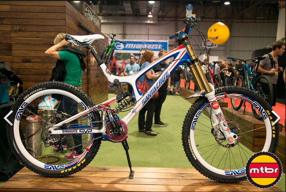 Santa Cruz Steve Peat's World Cup V-10
