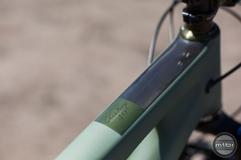 What really sets this limited edition bike apart is the subtlety.