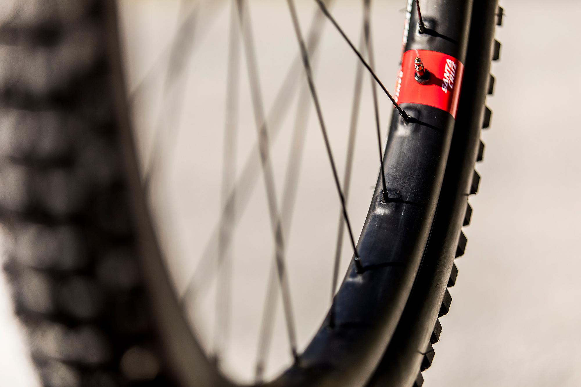 Santa Cruz spent three years developing the new Reserve wheels.