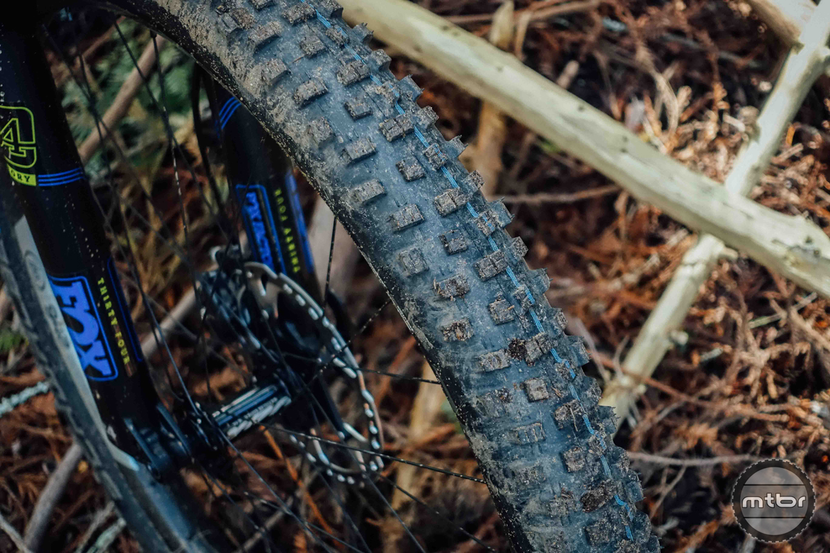 "The Nobby Nic offers a wonderful compromise between DH grip and XC speed. In the new 2.6"" width, it's even more fun."