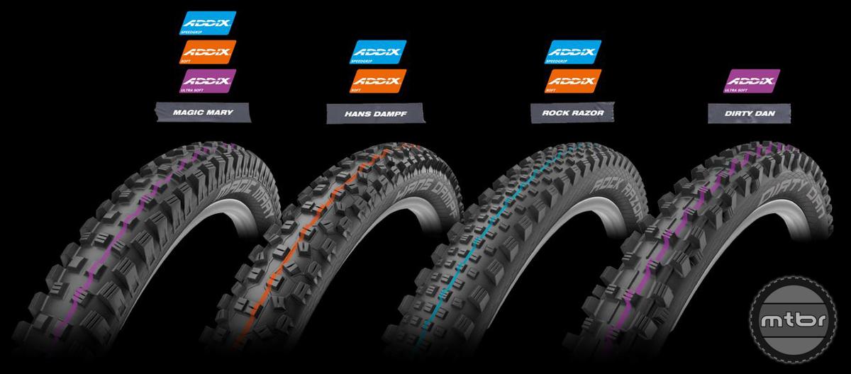Schwalbe ADDIX Tire Color