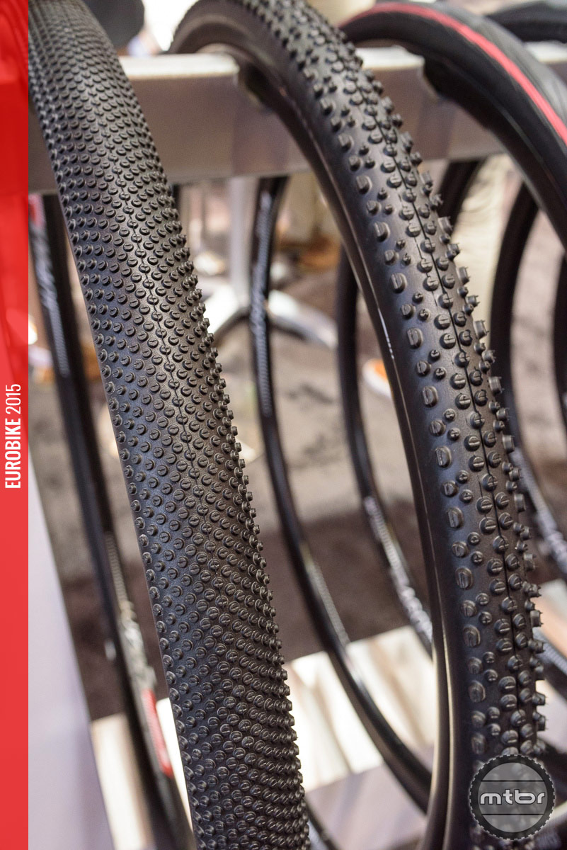 Schwalbe G-One (left) and X-One (right).