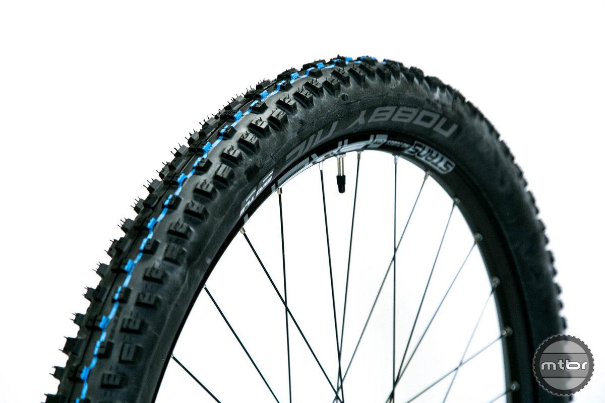 Folding Bead Schwalbe Nobby Nic Addix Tyre 29x2.35 Speed Grip Snakeskin