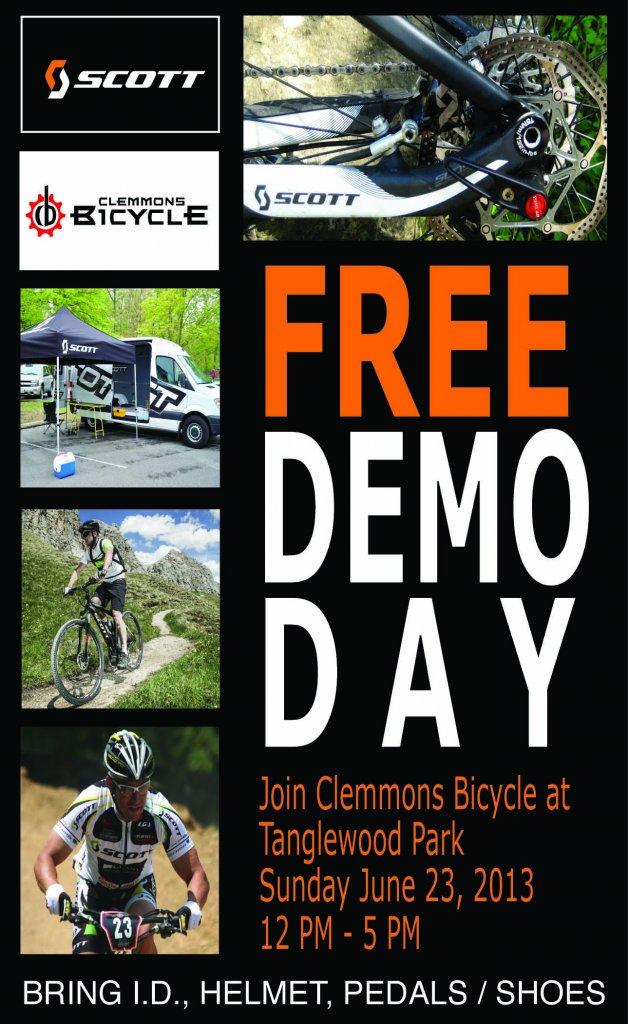 Niner Demo Day p/b Clemmons Bicycle-scott-demo.jpg