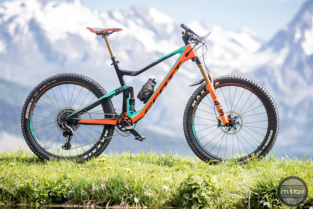 The new Scott benefits from a longer reach, slacker head angle, new suspension configuration, and more.