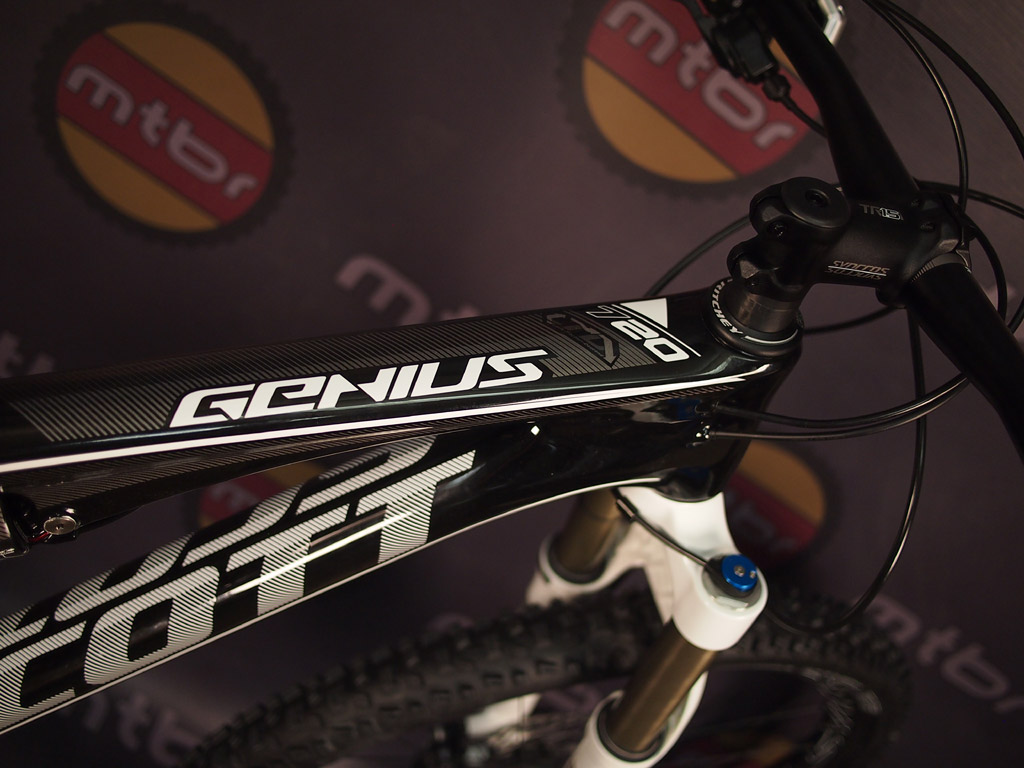 Scott Genius top tube