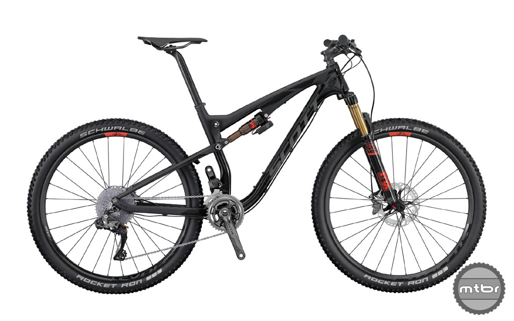 """With it's """"Ultimate"""" designation, this bike comes equipped with all the high end tech bits including the eNude shock with Traction Control."""