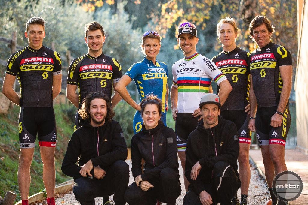 2017 SCOTT-SRAM Team