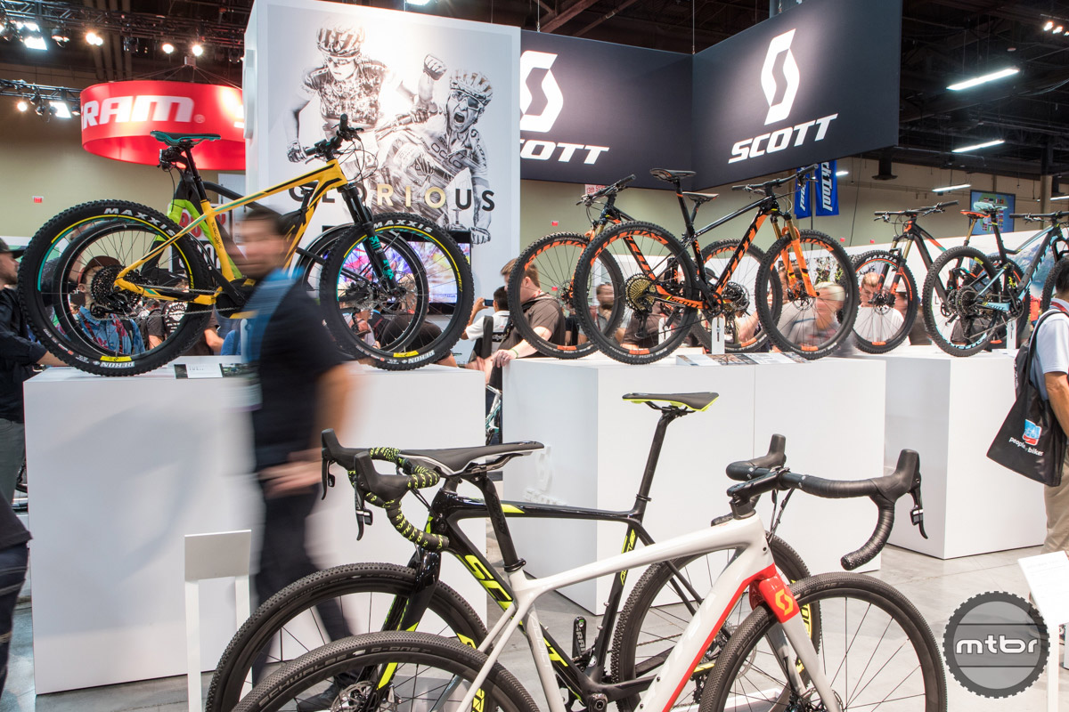 Syncros Scott Interbike 2016 Booth