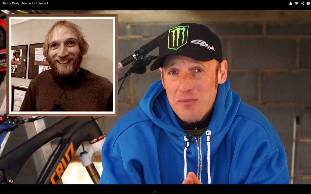 Steve Peat Before and After